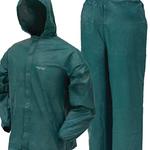 Frog Toggs Rainsuit Mens Ultra Lite Green - XL
