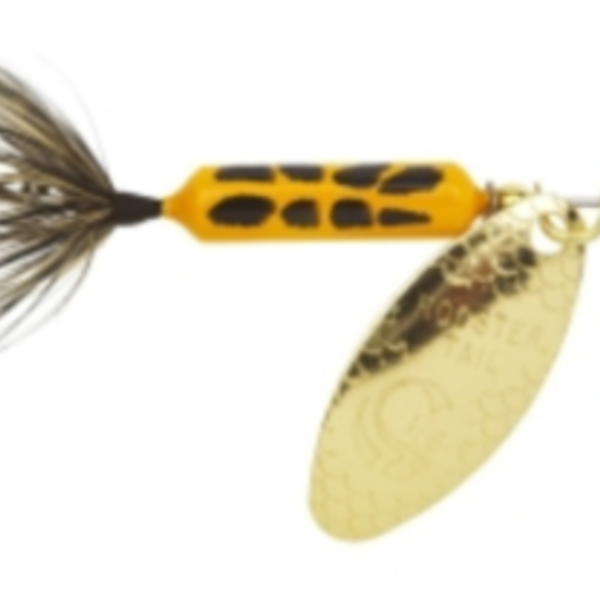 """Wordens S206-YLCD Rooster Tail In-Line Spinner, 2"""", 1/16 oz"""