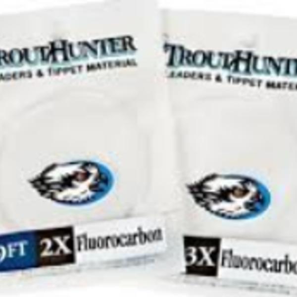 TROUTHUNTER Fluorcarbon 9' 0X