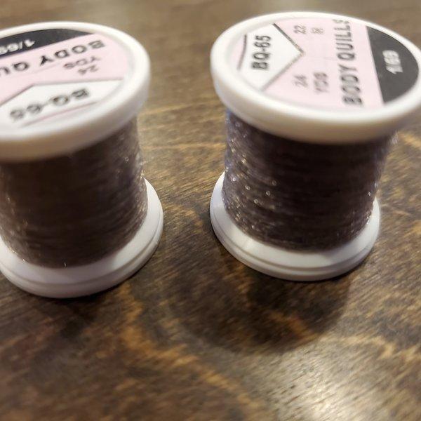 Hends BODY QUILLS – 24  YARD SPOOL - Beige - Dark Grey Multicolor