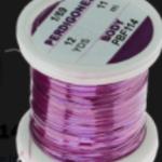 Hends PERDIGONES PEARL BODY – FINE 1/69 – 12 YARDS - Violet - Unlraviolet Effect PBF114