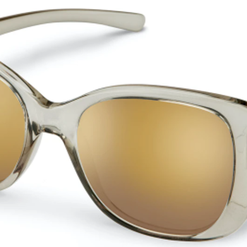 SunCloud Beyond Transparent Gray Polarized Sienna Mirror