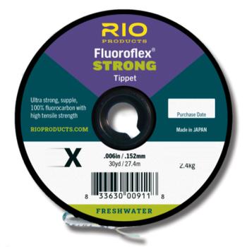RIO Fluoroflex Strong Tippet  6X 30 YRDS