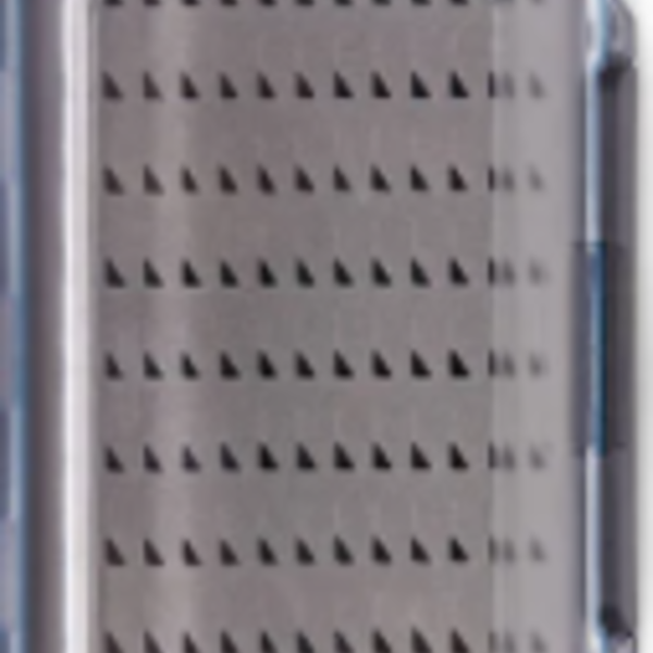 Adamsbuilt FLY BOX -VISION BLUE LARGE  DBL SIDED  6.1 X 4 X 1.75 HOLDS 234 FLIES