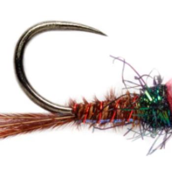 Fullingmill Roza Pink Pheasant Tail B/L S 18