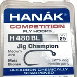 Hanak Hanak Hooks, Model 480, Sz 14, 25 pk