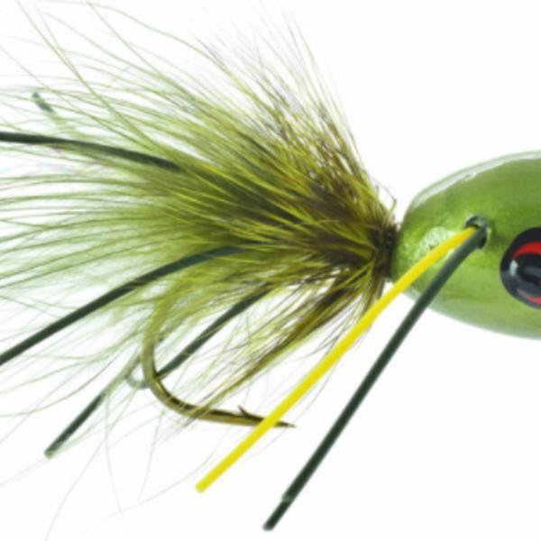UMPQUA Bass Popper Moss 10