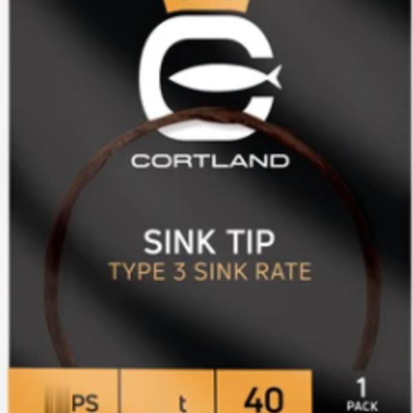 Cortland SINK TIP - BROWN  80 GRAINS (TYPE 3) 10'