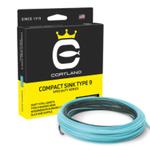 Cortland COMPACT SINK TYPE 9 275 GRAINS (7/8WT)Black/lt Blue
