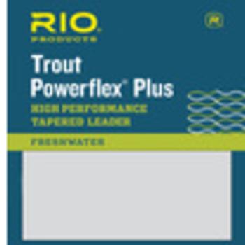 RIO POWERFLEX PLUS 9FT 6X LEADER 2-PACK