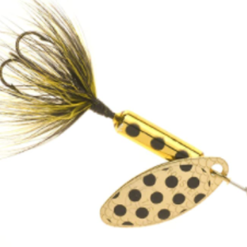 Wordens Rooster Tail - Metal Gold Spot 1/80z