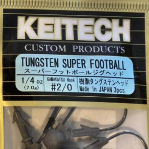 KEITECH Tungsten Super Football 1/4oz #2/0