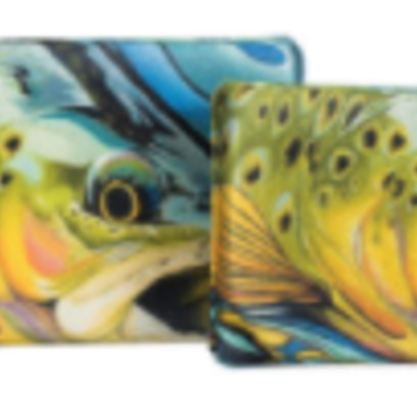 South Fork/New Phase Lycra EVA  Fly Box  Large -Trout