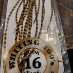 Whiting 100 PACK, size 16 -   Grizzly/March Brown