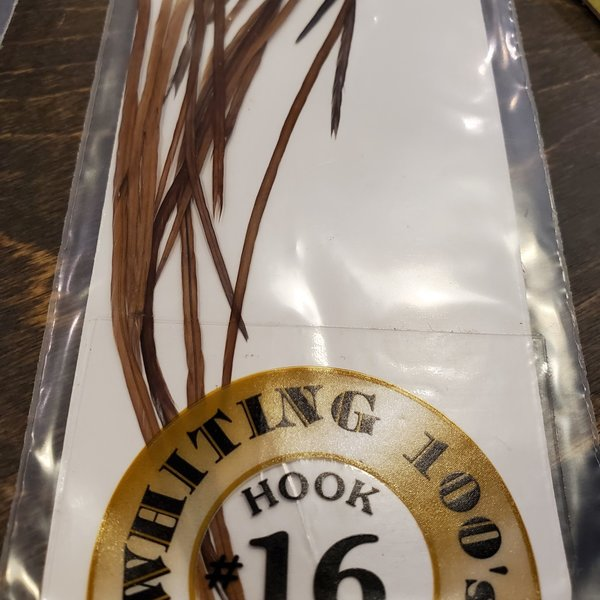 Whiting 100 PACK, size 16 -   Brown