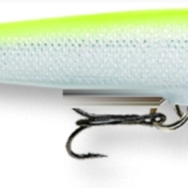 RAPALA Original Floating Silver Fluo Chartreuse