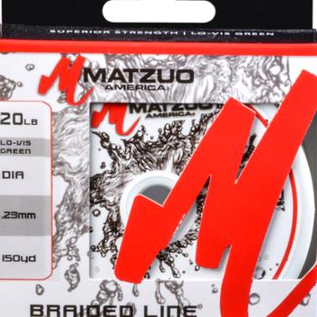 Matzuo Matzuo MZ-BL-20 Mz Braided Line 20Lb