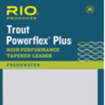 RIO Powerflex Plus 9Ft 4X Leader 2-Pack
