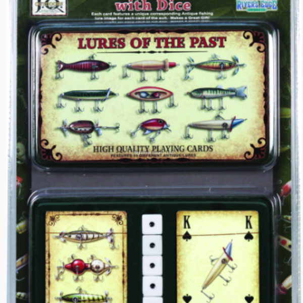 Rivers Edge LURES OF THE PAST PLAYING CARDS