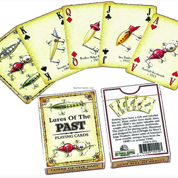 Rivers Edge Playing Cards - Lures of the Past