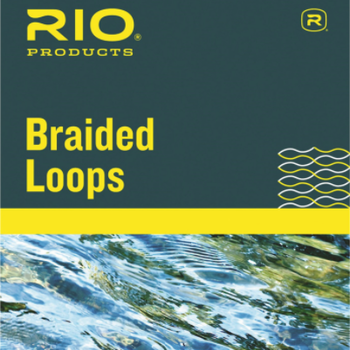 RIO Braided Loops 4 Pack with Tubing Regular Lines 3 - 6
