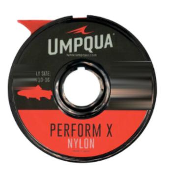 UMPQUA PERFORM X TROUT NYLON TIPPET 20YDS - 05X