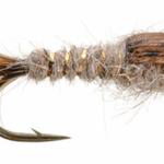 UMPQUA GOLD RIBBED HARE'S EAR S14