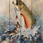 DaydreamHQ Bartholet's Brook Trout 11 X 15