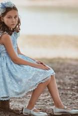 PETIT - Dress Blue Lace