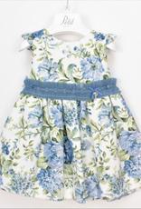 PETIT - Dress Blue Floral