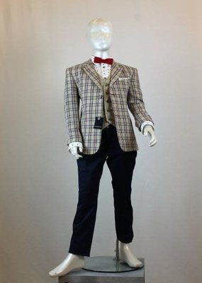 Colorichiari COLORICHIARI - Boy's Suit with Vest - Red Bowtie