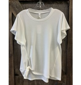 LLOVE LADIES TOP  OFFWHITE   SMALL