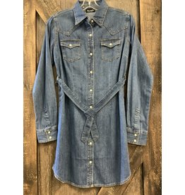 Wrangler WRANGLER DENIM DRESS.  L