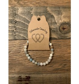ENERGY MALA BEAD BRACELET AMAZONITE
