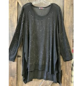 LADIES TUNIC HI-LOW