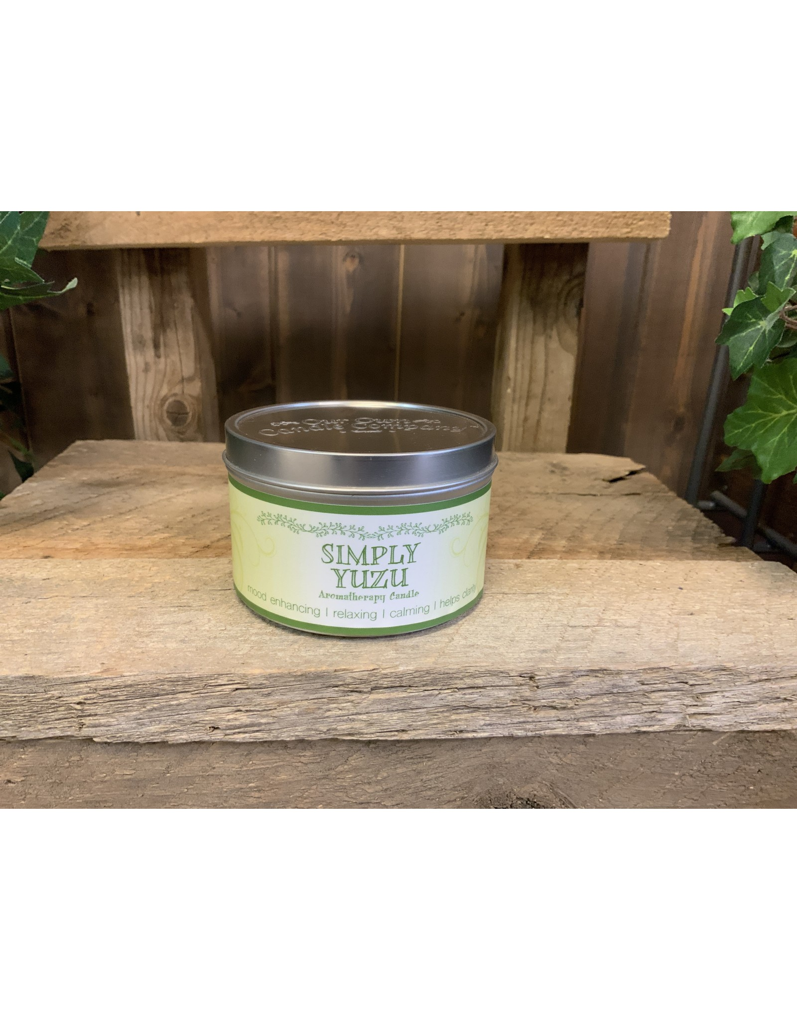 OUR AROMATHERAPY CANDLE
