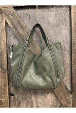 LEATHER VEGAN PURSE