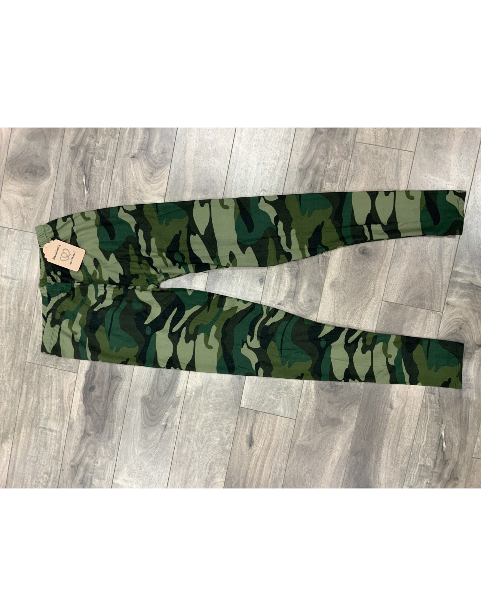 LADIES CAMO LEGGINGS  ONESIZE