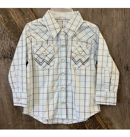 TODDLER BOYS WRANGLER SNAP SHIRT