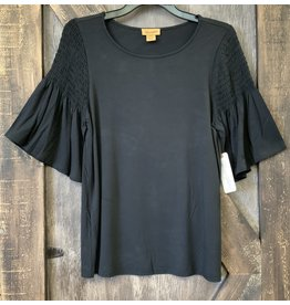 LADIES BLACK  WRANGLER TOP