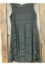 LADIES BLACK LACE DRESS