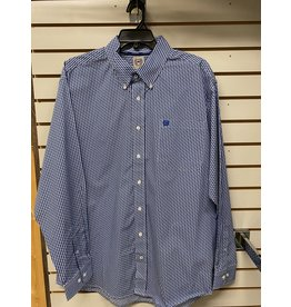 Cinch MEN'S MTW1105246 BLUE SHIRT CINCH