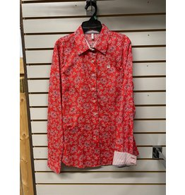 Cinch LADIES MSW9165007 RED SHIRT CINCH