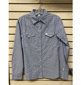 Cinch LADIES MSW9201019 BLUE SHIRT CINCH