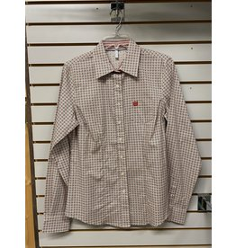Cinch LADIES MSW9164157 CREAM SHIRT CINCH