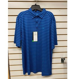 Cinch MEN'S MTK1863009 BLUE STRIPPED POLO SHIRT CINCH