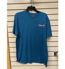 Cinch MEN'S 155737 BLUE T-SHIRT CINCH