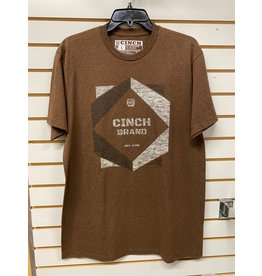 Cinch MEN'S 155737 BROWN T-SHIRT CINCH