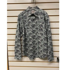 Cinch BOY'S MTW7020083 GREEN PAISLEY SHIRT CINCH