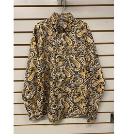 Cinch BOY'S MTW7060247 YELLOW PAISLEY SHIRT CINCH
